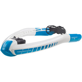 AMEO Powerbreather Sport 2.0 Snorkel, white/blue